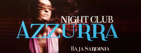 Night club Azzurra Olbia Baja Sardinia logo